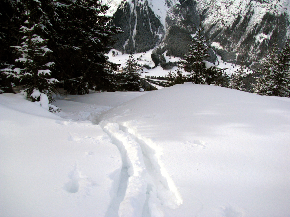ascent to Lichtspitze